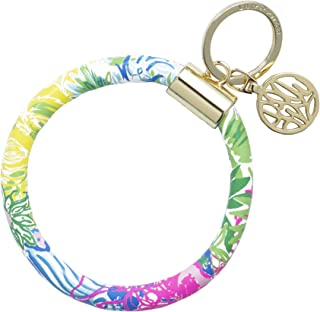 Lilly Pulitzer Round Key Ring Chain