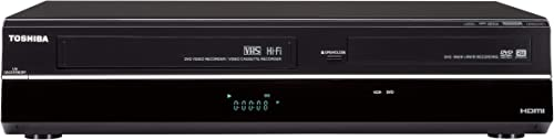 Toshiba DVR670/DVR670KU DVD/VHS Recorder with Built in Tuner, Black (2009 Model) (Renewed) product image