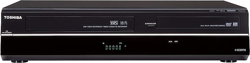 Toshiba DVR670/DVR670KU DVD/VHS Recorder with Built in Tuner, Black (2009 Model) (Renewed)