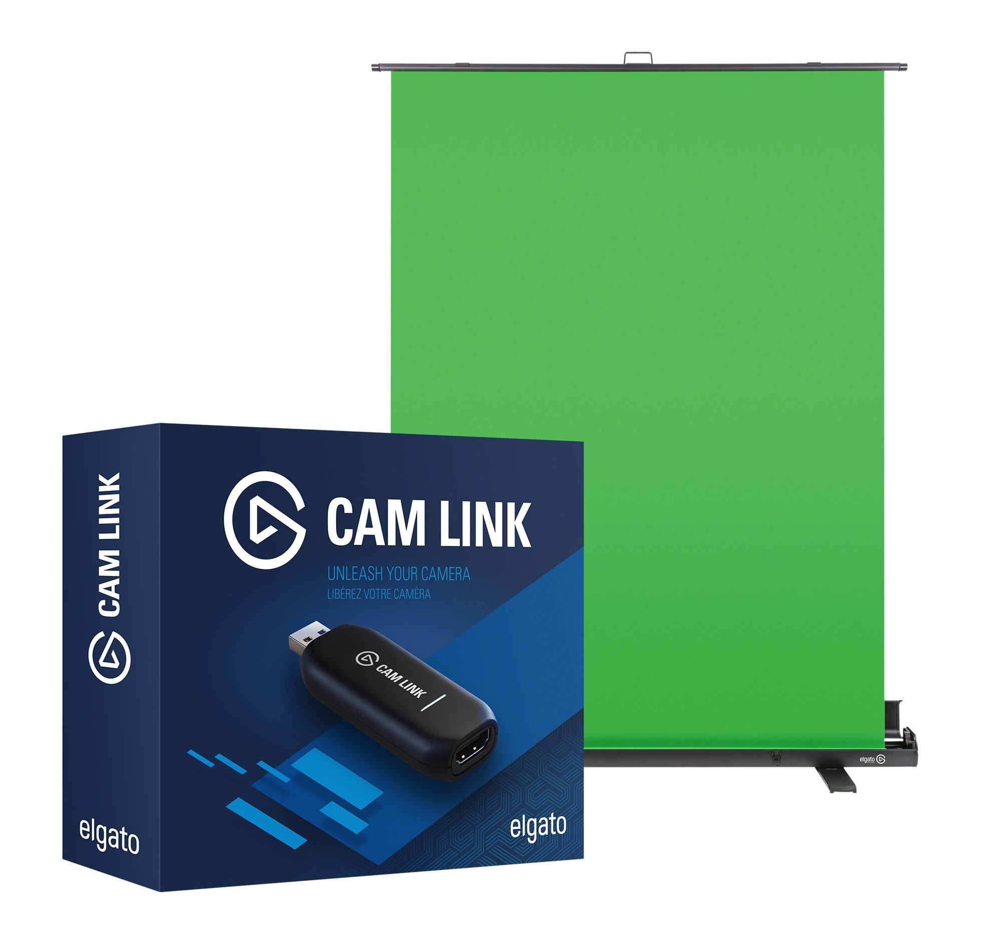 Elgato Pro Chroma Key pack: Elgato Green Screen y Elgato Cam Link: Amazon.es: Informática