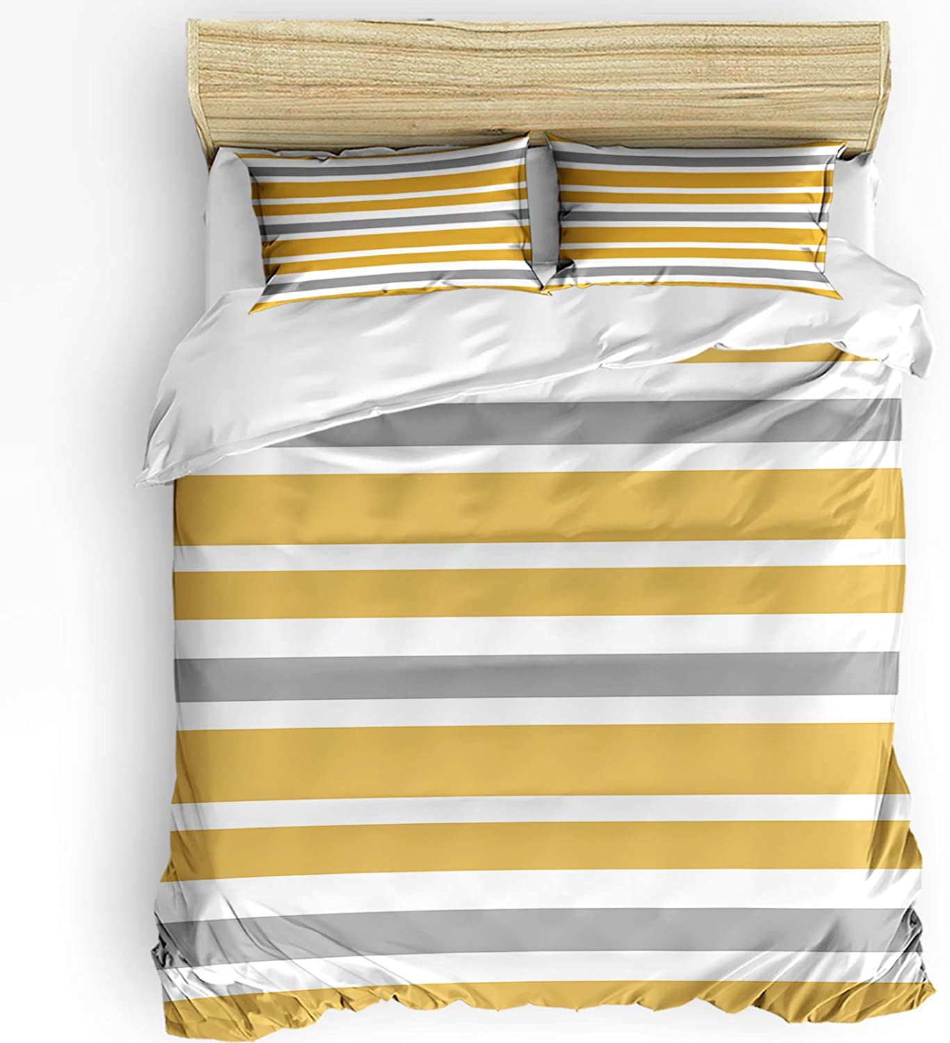 Candescence Geometric Duvet Virginia Beach Mall Purchase Cover Set 3 Polye Pieces Breathable