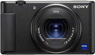 كاميرا سوني ZV-1 لمبدعي المحتوى ومقاطع الفيديو ويوتيوب مع شاشة قابلة للطي وميكروفون
