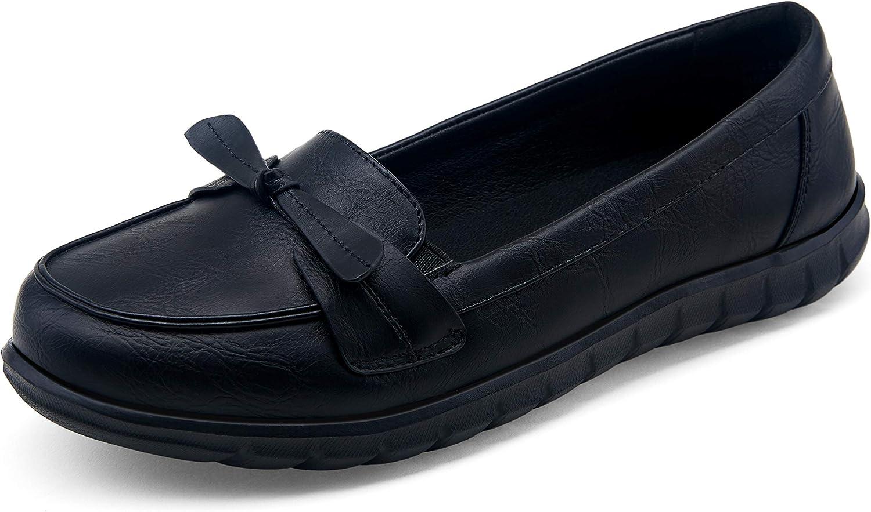 Vepose Women's Ballet Flats Slip-on Walking Shoes for Women Flats Comfortable