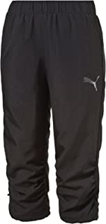 PUMA Women's Active Essential 3/4 Woven Trousers, Black, Small