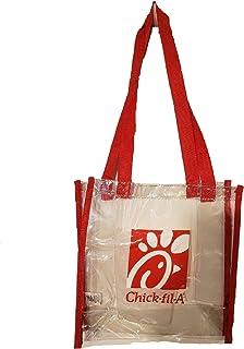 b94c1af5 Chick-fil-A Clear Plastic Tote Bag by Hit Promotional - NFL/PGA