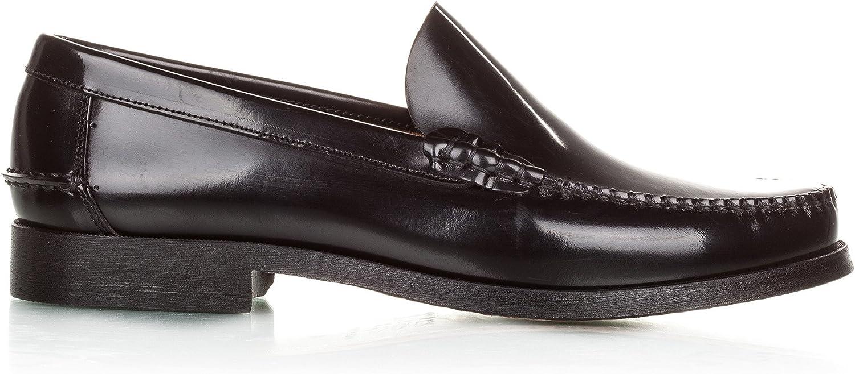 Castellanísimos Men's Mocasín LISO Piel black Loafers