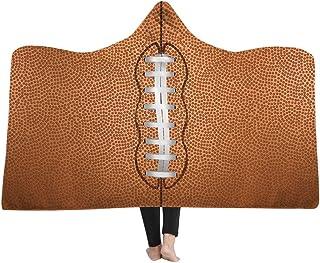 [HomeMiYN]毛布 シングル フード付き 着る毛布 ボール柄 5種類