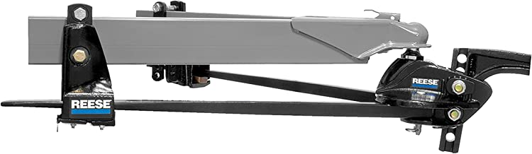 Reese 66559 Steadi-Flex Trunnion Weight-Distributing Hitch Kit with Shank-10,000 lb