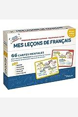 Français collège Mes leçons de Français : 66 cartes mentales pour assimiler facilement le programme de français et préparer sereinement l'épreuve du brevet Broché