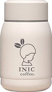シービージャパン 水筒 ホワイト 190ml 直飲み ステンレス ボトル 真空 断熱 INIC×カフア コーヒー ボトル QAHWA