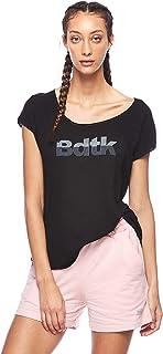 BodyTalk Women's Short-Sleeved T-Shirt, Black, Large
