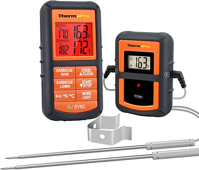 ThermoPro TP08S Wireless Digital Meat Thermometer - Affordable