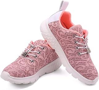 gracosy Kvinnor sneakers träningsskor andningsbara laddningsskor mode lysande utomhus casual sport löparskor slip-on gång ...