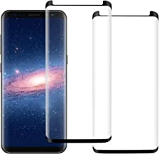 [2Pack] Galaxy Note 8 Screen Protector, 3D Curved Full Coverage High Definition Case Friendly Easy to Install Anti-Bubble Anti-Scratch for Samsung Galaxy Note 8 Screen Protector