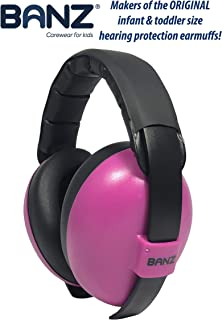 Banz Mini Earmuffs, Magenta