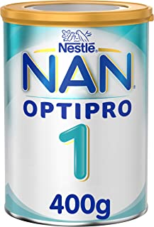 Nestle NAN OPTIPRO Stage 1, From birth to 6 months, Starter Infant Formula with Iron, 400g