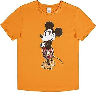Blusa Feminina Adulto com Lantejoulas Disney Amarelo, P