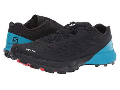 Salomon S/Lab XA Amphib 2 (Black/Black/Transcend Blue) Shoes