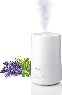 medisana AH 661 Luchtbevochtiger ultrasoon, luchtreiniger voor slaapkamers en woonkamers, vernevelaar met aromacompartimen...