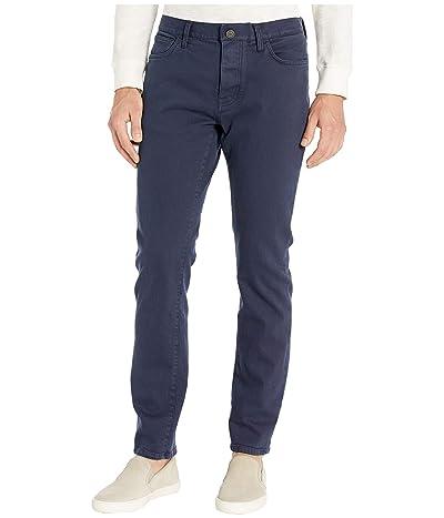 Tommy Hilfiger Adaptive Jeans Straight Adjustable Waist Magnet Buttons (Midnight) Men