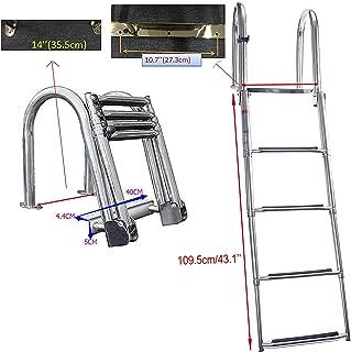 Best front ladder for pontoon boat Reviews