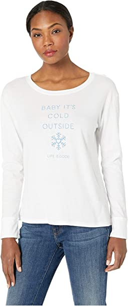 Baby It's Cold Outside Breezy Long Sleeve T-Shirt