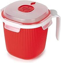 سنيبس 001700 اكواب حساء في الميكروويف، قطعتين 2، احمر 1-Piece Snips _700