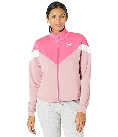 PUMA Classics MCS Track Jacket (Glowing Pink) Women