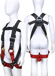comprar comparacion ENJOHOS Arnés de Escalada, arnés Arnés de Escalada, arnés guía, Cinturones de Seguridad para montañismo de Alto Nivel Espe...