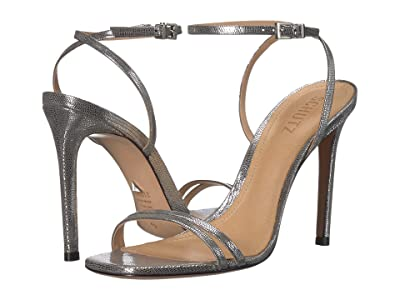 Schutz Altina (Prata Shine Lizard) Women
