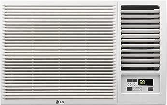 LG 12,000 BTU 230V Window-Mounted AIR Conditioner with 11,200 BTU Heat Function (Renewed)