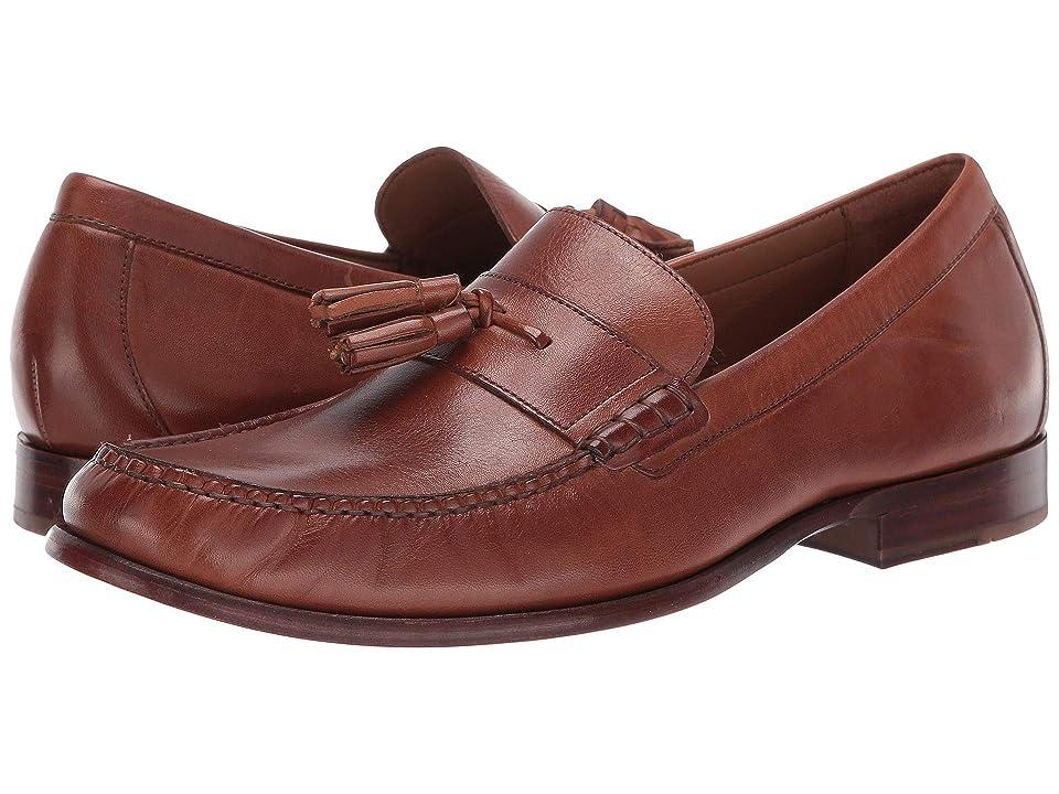 Cole Haan Pinch Handsewn Tassel Loafer (British Tan Handstain/Dark Natural) Men