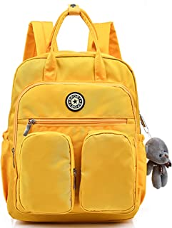 Scioltoo Cute Backpacks for Teens Nylon Bookbag Lightweight Waterproof Mini Laptop Bag