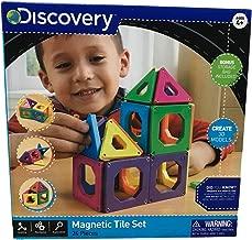 24 piece magnetic tile set