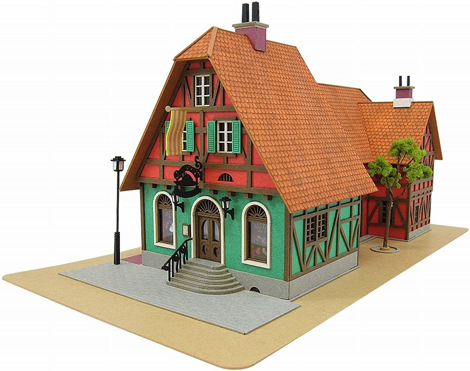 [Miniatuart] Limited Edition `Howl`s Moving Castle` Hat Shop (Unassembled Kit)
