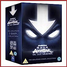 Avatar Der Herr der Elemente Box Das komplette Buch 1-3 Set - Wasser Erde Feuer