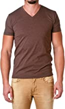Best brown v neck t shirt Reviews