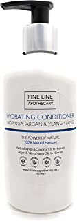 NATURAL - ACONDICIONADOR HIDRATANTE - COCO MORINGA ARGAN & YLANG YLANG - 250 ml - por Fine Line Apothecary - Sin Sulfato...