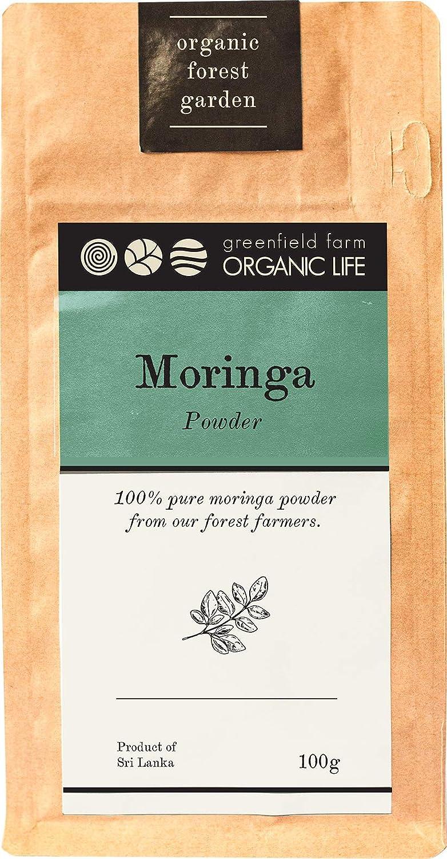 Daily bargain sale Moringa Leaf Powder - USDA Stamina Immunity Organic New arrival Certified