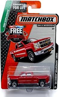 Matchbox MBX Explorers '14 Chevy Silverado 1500 Red #29/120 by Matchbox