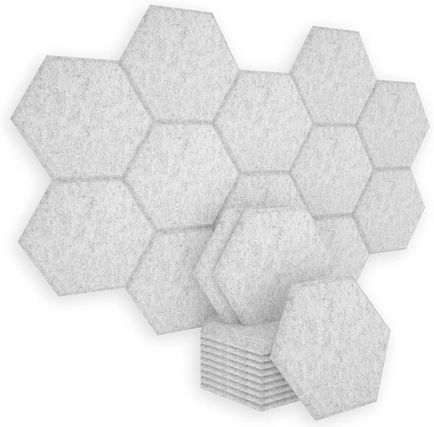 favorite BUBOS 6 Pack Hexagon Tampa Mall Acoustic X 14 Wall Soundproof Panels
