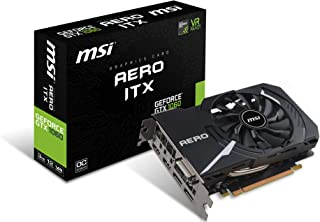 MSI GeForce GTX 1060 AERO ITX 3G OC グラフィックスボード VD6308