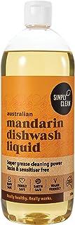 Simply Clean Australian Mandarin Dishwash Liquid 1 Litre, 1 liters
