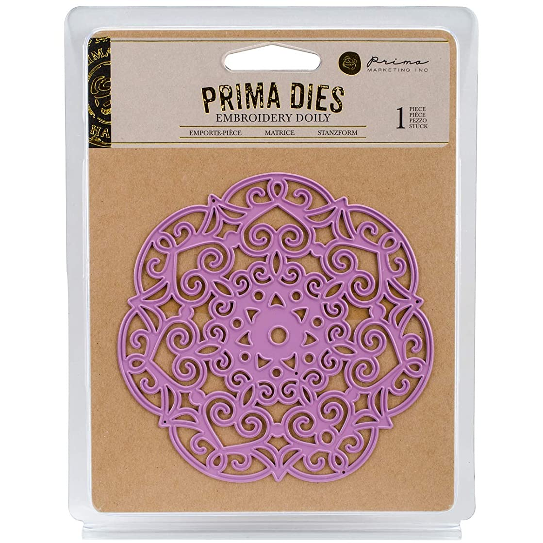 Prima Marketing 655350584009 Embroidery Doily Scrapbooking Dies