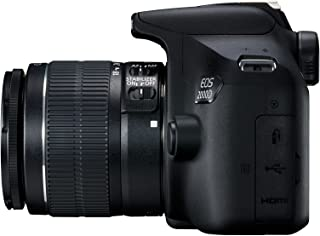 Canon Eos 2000D 18-55Mm Is Fotoğraf Makinesi, Full Hd (1080P), Siyah