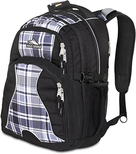 2230-Cubic Inches Swerve Daypack (Mad for Plaid, Black)