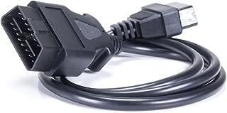 OBD 2 C/âble de diagnostic avec /éclairage LED D-SUB-Jack pour Testeur HU Adaptateur 21 Plus Weimar 2