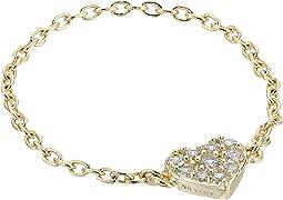 SHASHI - Heart Chain Ring
