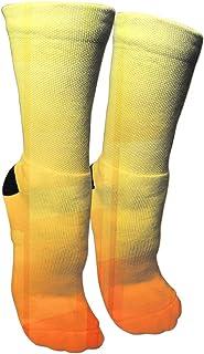 靴下 抗菌防臭 ソックス アスファルトスポーツソックス、旅行&フライトソックス、塗装アートファニーソックス30 cmロングソックス