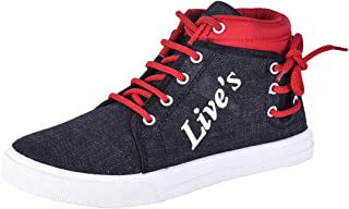 AIRCUM Look Men's Canvas Sneakers and Loafer Shoes